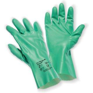 Für einen festen Griff und besten Schutz – der Chemikalienschutz-Handschuh KCL Tricotril® 736 Mit de