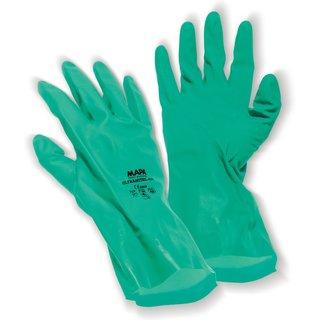 Bequeme Arbeitshandschuhe für ein sicheres Arbeiten mit Chemikalien Der Umgang mit Chemikalien erfor