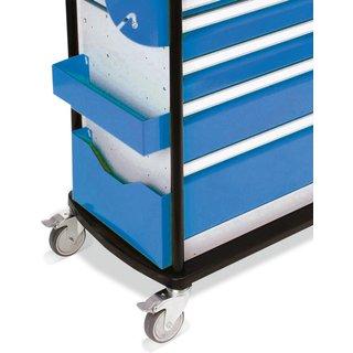 Dokumentenhalter für Werkstattwagen Maxmobile, zum einfachen Einhängen | 2 Stangen zur Befestigung d
