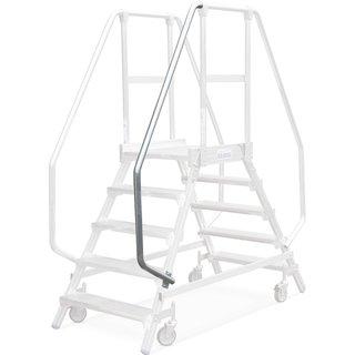 Handlauf für Podesttreppe KRAUSE® aus widerstandsfähigem Aluminium | Per einfacher Selbstmontage sch