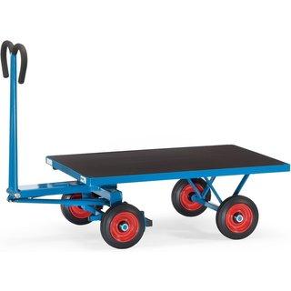 Dieser Plattformwagen von fetra® macht Transporte leichter Mit diesem Plattformwagen gehen Sie im wa