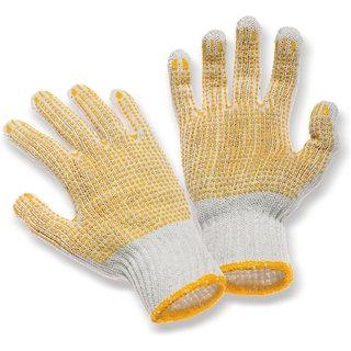 Doppelt gut: Arbeitshandschuhe mit PVC-Noppen auf beiden Seiten Mechanische Schutzhandschuhe Twice b