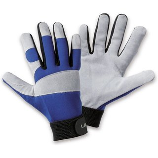 Mechanische Schutzhandschuhe Utility Iso sorgen für warme Hände bei Minusgraden Die Spaltleder-Schut