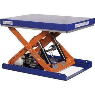 Hydraulischer Scheren-Hubtisch EdmoLift® C-Serie für ergonomische Materialzufuhr am Arbeitsplatz Müs