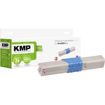 KMP Toner ersetzt OKI 46508710 Kompatibel Magenta 3000 Seiten O-T58X