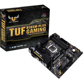 Asus TUF B365M-PLUS GAMING Mainboard Sockel Intel 1151 Formfaktor Micro-ATX Mainboard-Chipsatz Int