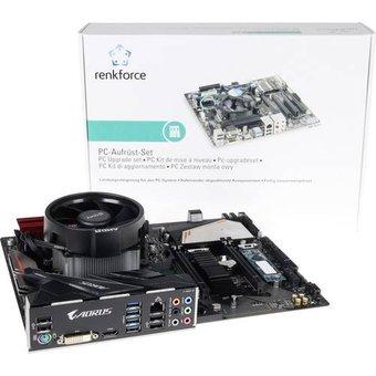 Renkforce PC Tuning-Kit AMD Ryzen 5 AMD Ryzen 5 3600X 6 x 3.8GHz 16GB keine Grafikkarte ATX