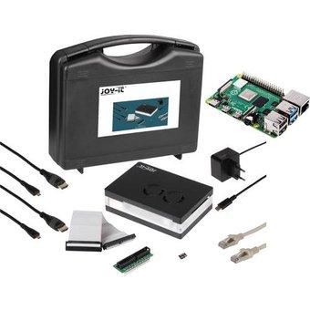 Joy-it Allround Starter Kit Raspberry Pi 4 B 8GB 4 x 1.5GHz inkl. Aufbewahrungskoffer, inkl. Gehä