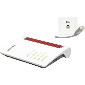 AVM FRITZ!Box 7530 AX WLAN Router 2.4GHz, 5GHz 1800MBit s