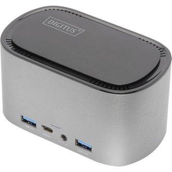 Digitus DA-70889 USB-C Notebook Dockingstation Passend für Marke Universal ChromeBook, Chromebo