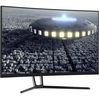 LC Power LC-M27-QHD-144-C Gaming Monitor 68.6cm 27 Zoll EEK B A D 2560 x 1440 Pixel QHD 4 m