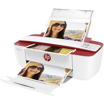 HP Deskjet 3764 All-in-One Farb Tintenstrahl Multifunktionsdrucker A4 Drucker, Scanner, Kopierer WLA