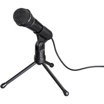 hama MIC-P35 Allround PC-Mikrofon schwarz
