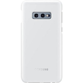 SAMSUNG LED Cover Handy-Cover f uuml r SAMSUNG Galaxy S10e wei szlig