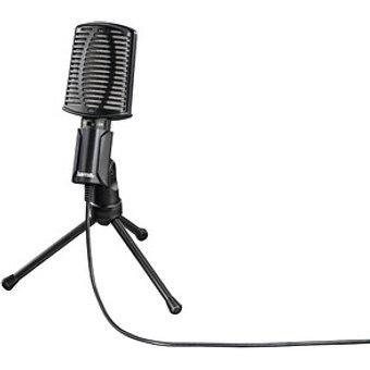 hama MIC-USB Allround PC-Mikrofon schwarz