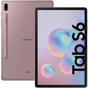 SAMSUNG Galaxy Tab S6 WiFi Tablet 26,7 cm 10,5 Zoll 128 GB pink