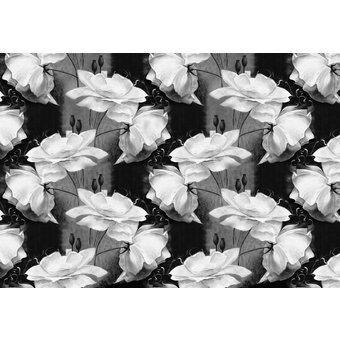 CONSALNET Vliestapete Blumen Muster, verschiedene Motivgrössen, für das Büro oder Wohnzimmer