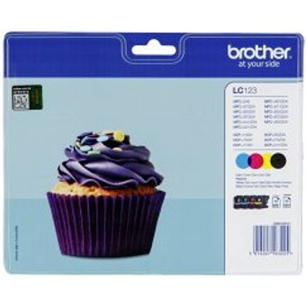 Brother LC-123 Value Pack BK C M Y