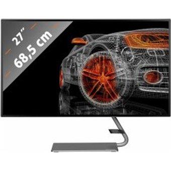 Lenovo Q27h-10 68,55 cm 27 Zoll Monitor QHD 2560 x 1440 Pixel , 4ms Reaktionszeit