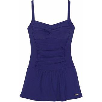 LASCANA Badekleid Damen blau Gr.50