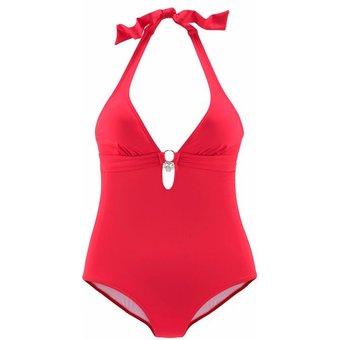 Badeanzug Damen rot Gr.40