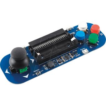 WAVESHARE BBCZ GAMEPAD Micro Bit Gamepad Modul mit Joystick Tastern