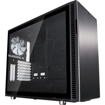 FD-CA-DR6BLW Fractal Design Midi Tower Define 6 schwarz, Sichtfenster