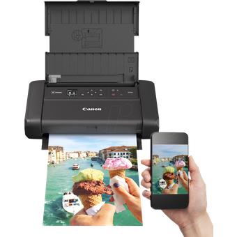 Canon PIXMA TR150AK Drucker, Tinte, A4, mobil mit Akku, ink. UHG