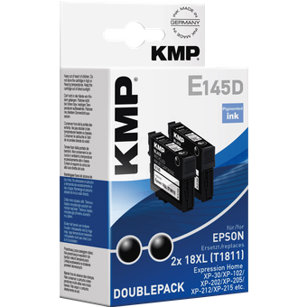 KMP PRINTTECHNIK AG KMP 1622,4021 Tinte Epson schwarz 2x T1811- refill