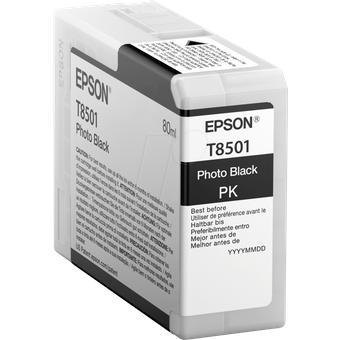TINTE T8501 Tinte Epson photoschwarz T85 -original