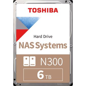 HDWN160UZSVA 6TB Festplatte Toshiba N300 NAS