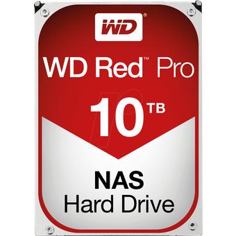 Western Digital WD101KFBX 10TB Festplatte WD RED PRO NAS