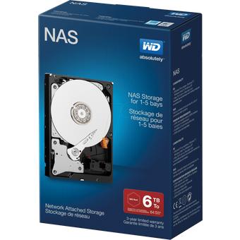 Western Digital WDBMMA0060HNC 6TB Festplatte WD NAS-HDD NAS Retail
