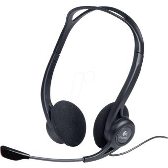 LOGITECH PC960 Headset, USB, Stereo, PC960