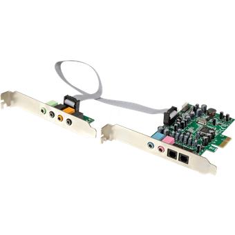 StarTech.com ST PEXSOUND7CH Soundkarte, intern, Surround-Sound, 7.1, PCIe