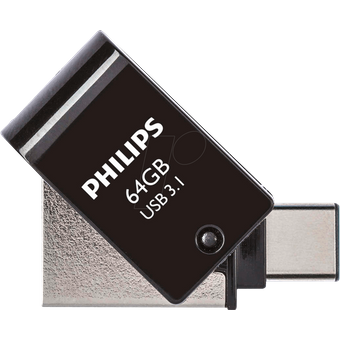 PHI FM64DC152B USB-Stick, USB 3.1, 64GB Philips OTG USB C USB