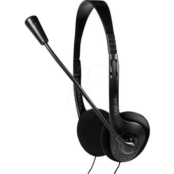 LOGILINK HS0052 Headset, Klinke, Stereo