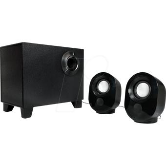 LOGILINK SP0045 Lautsprecher, PC, Stereo