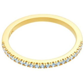 ID Fine Ring Blue Simplicity