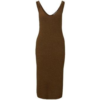 Tom Tailor Denim Kleider Jumpsuits Kleid mit Knoten-Detail
