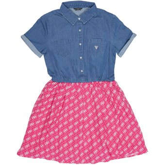 GUESS KIDS Kleid LOGO 4G ALL-OVER
