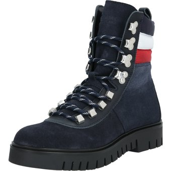 Tommy Jeans Schnürstiefelette PADDED NYLON LACE UP BOOT