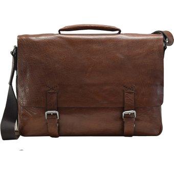 Strellson Greenford Aktentasche Leder 39 cm Laptopfach