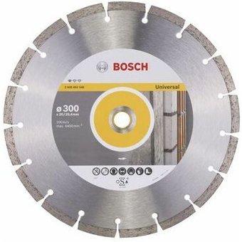 Bosch Diamanttrennscheibe Standard for Universal, 300 x 20,00 25,40 x 3,1 x 10 mm 2608602548