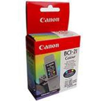 Canon 0955A002 Druckerpatrone Multipack gelb, cyan, magenta BCI 21