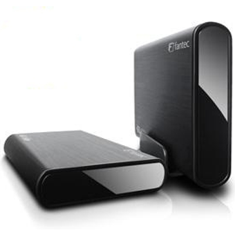 Fantec DB-ALU3e-6G 3.5 Zoll eSATA Festplattengehäuse mit USB 3.0