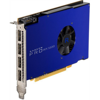 AMD Radeon Pro WX5100 8GB GDDR5 PCIe Workstation Grafikkarte 4x DP