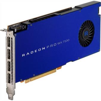 AMD Radeon Pro WX7100 8GB GDDR5 PCIe Workstation Grafikkarte 4x DP