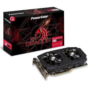 PowerColor AMD Radeon RX 580 Red Dragon 4GB GDDR5 DVI HDMI 3x DP Grafikkarte
