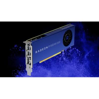 AMD Radeon Pro WX3100 4GB GDDR5 PCIe Workstation Grafikkarte 2x Mini DP 1x DP